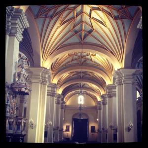 Interior de la Catedral de Lima