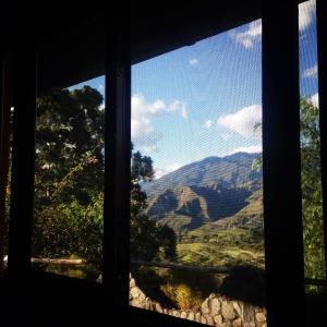 Vista desde mi ventana en Vilcabamba