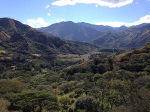 Vista en Vilcabamba